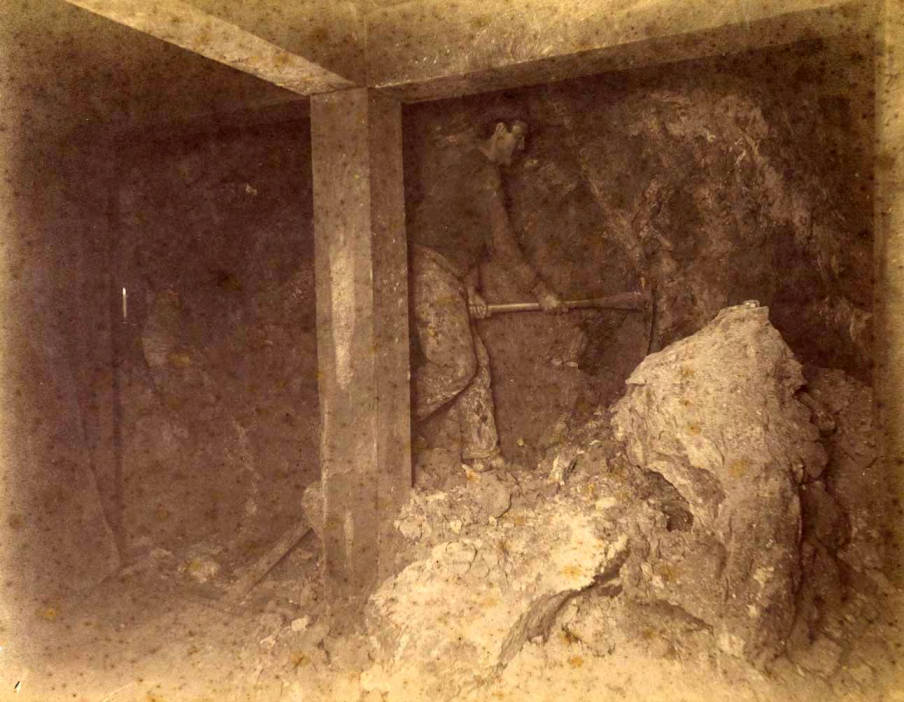 item thumbnail for Mountain Consolidated Mine 300 ft. level West [no. 1237]
