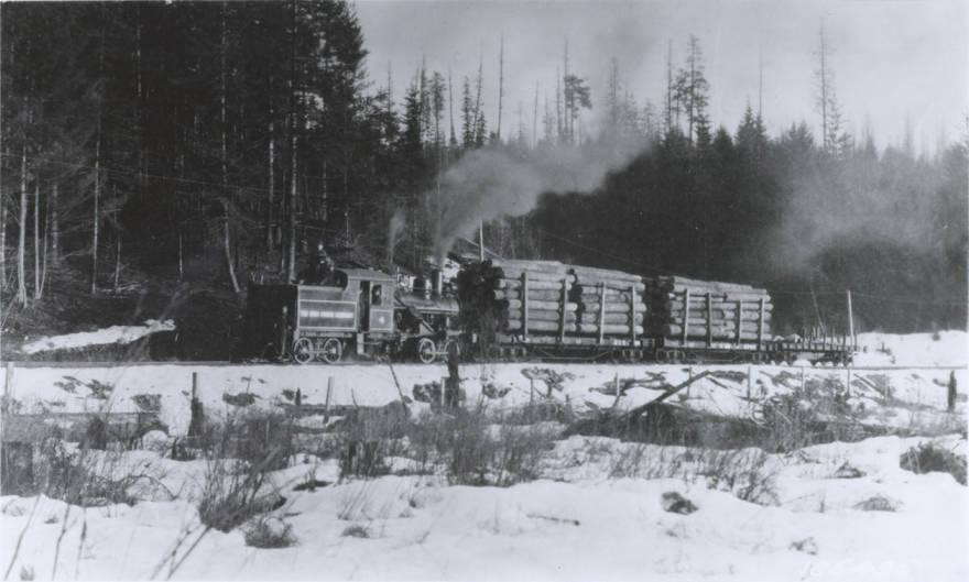 item thumbnail for Ohio Match Company Log Train