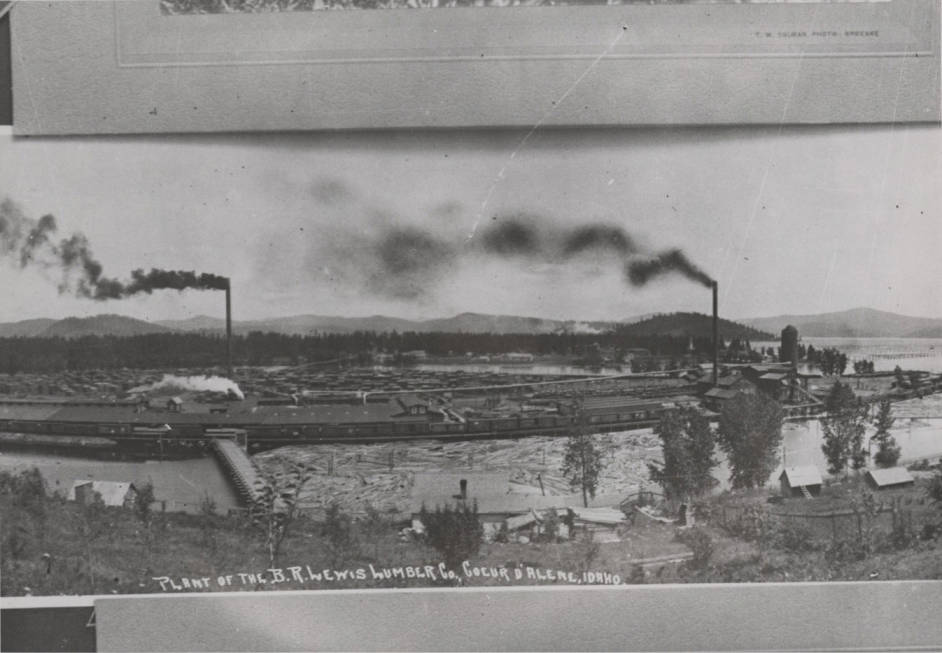 item thumbnail for B.R. Lewis Lumber Company Sawmill [02]