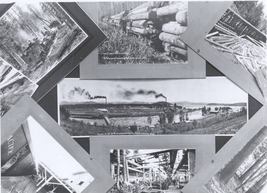 item thumbnail for B.R. Lewis Lumber Company Photo Collage