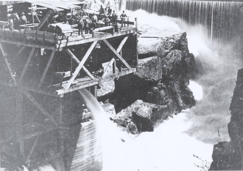 item thumbnail for Frederick Post Water-Powered Sawmill