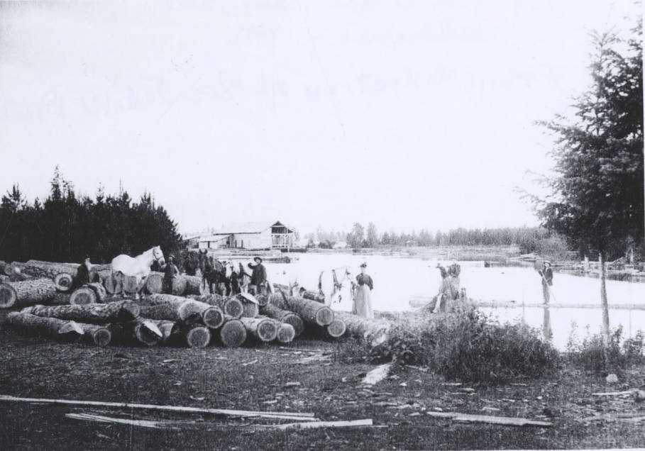 item thumbnail for A.W. Post Sawmill and Log Pond