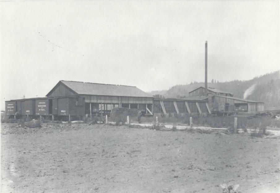 item thumbnail for Stine Lumber and Shingle Company Sawmill