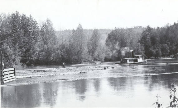 item thumbnail for Tugboat Towing Logs [03]