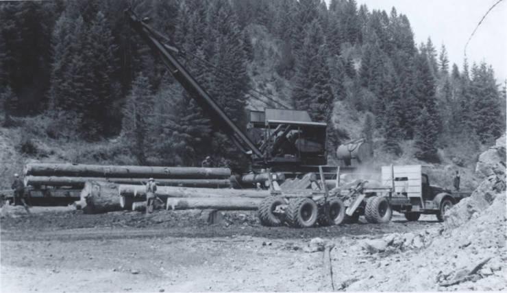 item thumbnail for Crane Loading Logs