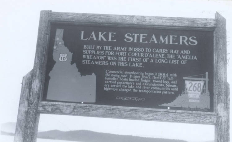 item thumbnail for Lake Steamers Sign