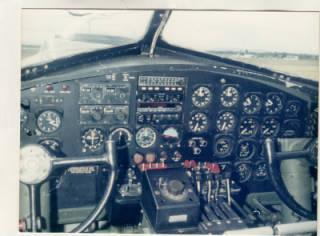 B17 Pilot Controls