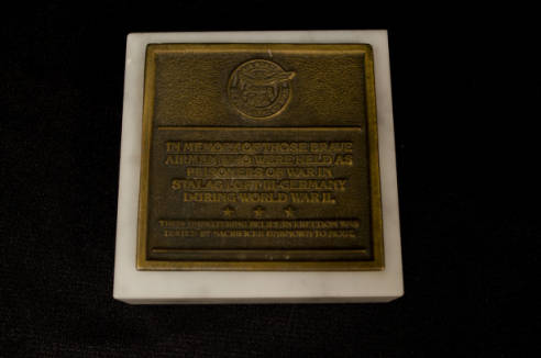 Stalag Luft III Memorial (Desk Weight)