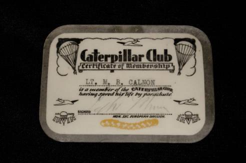 Caterpillar Club Card
