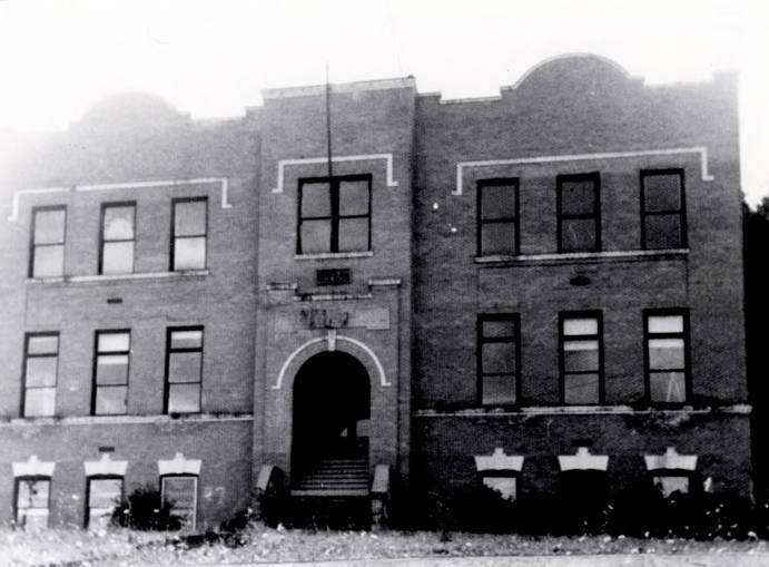 Image of Harrison Public School. Harrison, Idaho.