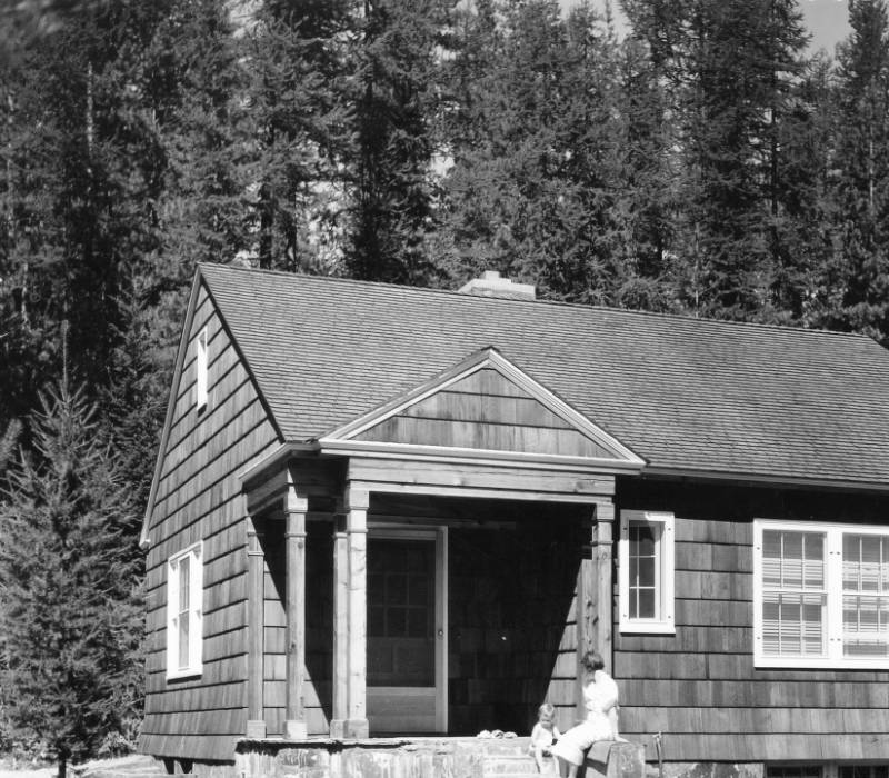 &#34;The cottage at Priest River Field Laboratory used by the station superintendent or by one of the married techincal employees.&#34;<br&gt;210