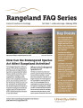 How Can the Endangered Species Act Affect Rangeland Activities?